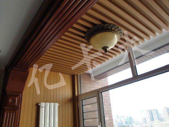 吊顶案例-瑞安亿卡木塑材料有限公司
